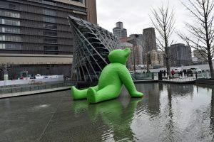 緑の熊か、ゴリラか、大上Tか