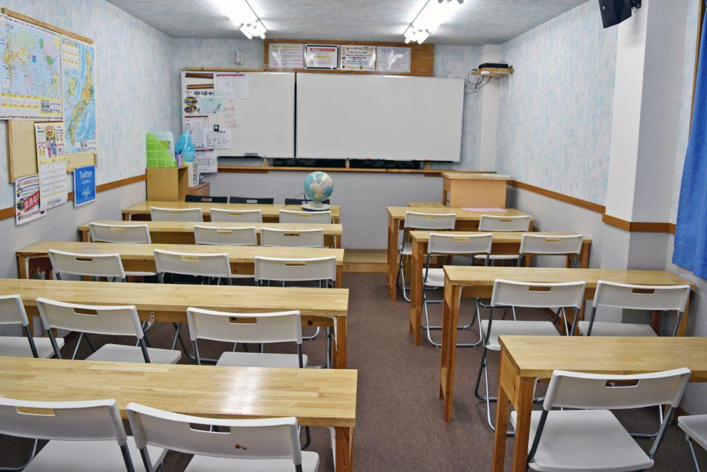 幸進学院 放出西校 教室